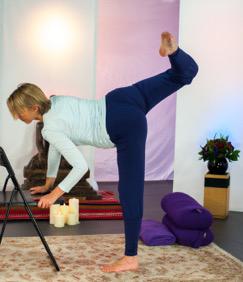 antenatal yoga teacher nadia raafat takes you through a