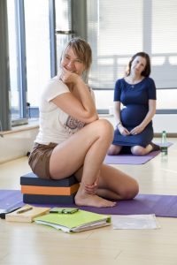 pregnancy yoga classes Kingston.